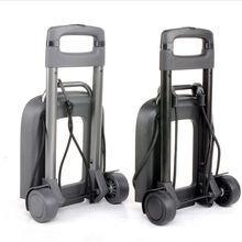 Auto acessórios saco de armazenamento, carrinhos carrinho de mão carro de aço dobrável carrinhos de bagagem barra de alumínio XL03