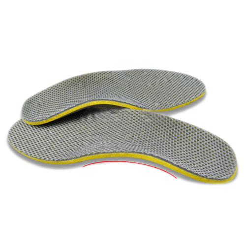 1 pair 3D premium women men comfortable shoes orthotic insoles inserts high arch support pad 2