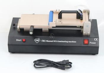 цена на Manual Built-in Vacuum Pump Universal OCA Film Laminating Machine Multi-purpose Polarizer for LCD Film TBK-761