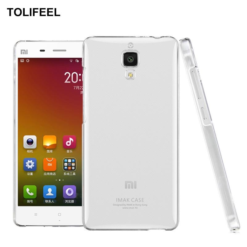 TOLIFEEL Silicone-Cover Mi4-Case Xiaomi M4 Mi-4 Original Phone Transparent-Protection