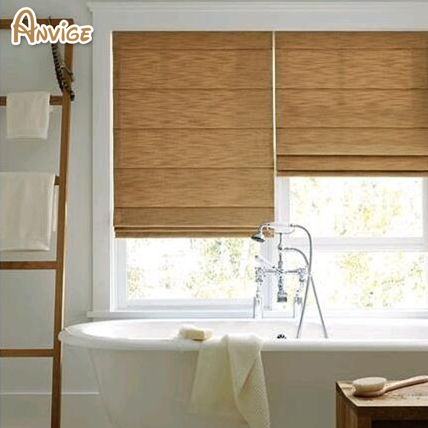 New Arrival 100 More Colors Easy Install Cotton Linen Fabric Roman Blinds Roman Shades For Living Room Window Curtains Blinds Shades Shutters Aliexpress