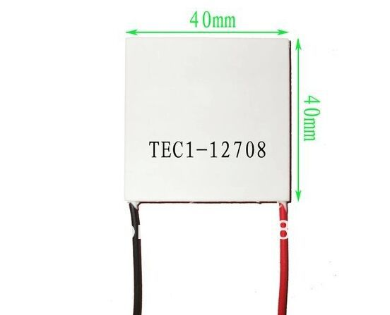 TEC1-12708 12V 8A 72W 12708 Heatsink Thermoelectric Cooler Cooling Peltiers Plate Module tec1 12708 12v 8a 72w 40 40mm cooling plate mechanism of semiconductor refrigeration piece drinking water cooling equipment