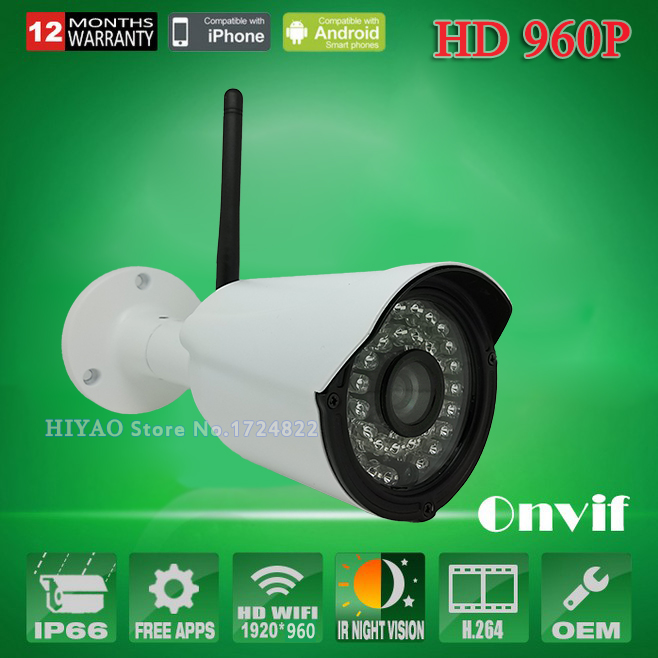 2 Pieces 2.0MP 1080p Wifi IP Camera HD CCTV outdoor ip cam wireless IR weatherproof infrared ONVIF security video wifi mini IPC wifi ip camera 1080p full hd cctv security waterproof wireless p2p weatherproof outdoor infrared mini onvif ir night vision cam