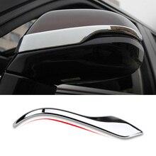 Car Rearview Mirror Cover Trim For Honda City 2015 2016 Door Rear View Mirrors Molding Bezels Auto Exterior Accessories 2Pcs/set