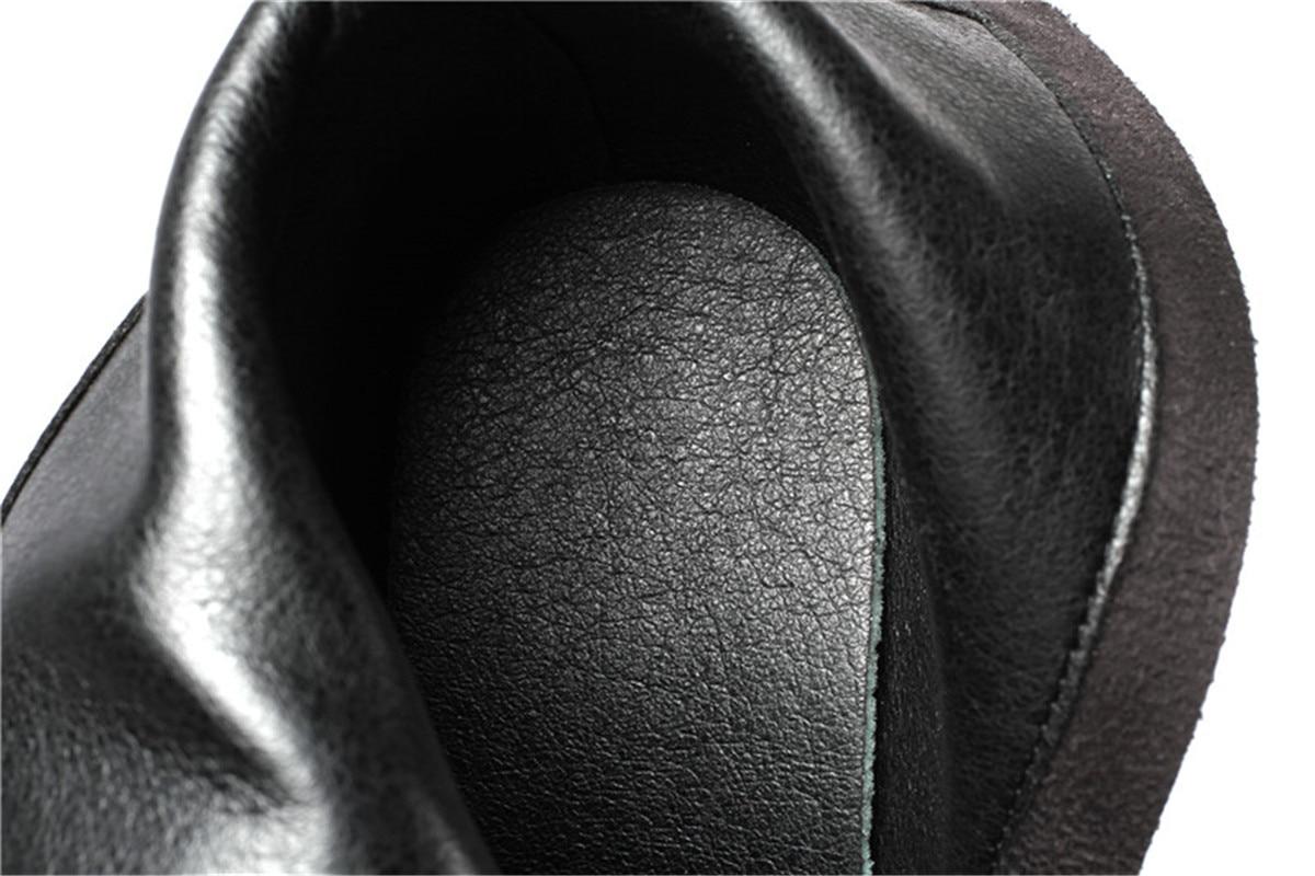 Glissière Mince Pointu Bottes Hauts marron Mode Esrfiyfe Nouveau Latérale 2019 Femme Femmes Black Bout Kid 1 black Suede Cheville Genune brown 1 Chaussures Talons wqA8f7p