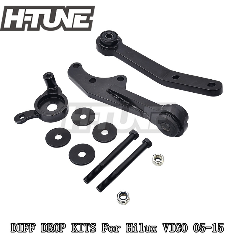 H TUNE 4x4 Accesorios Cradle Arm Style Front 2 4 Lift Diff Drop Kit For Hilux