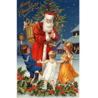DIY Merry Christmas Diamond Embroidery Santa Claus Cross Stitch Kits Full Square Drill Diamonds Panting Needleowrk