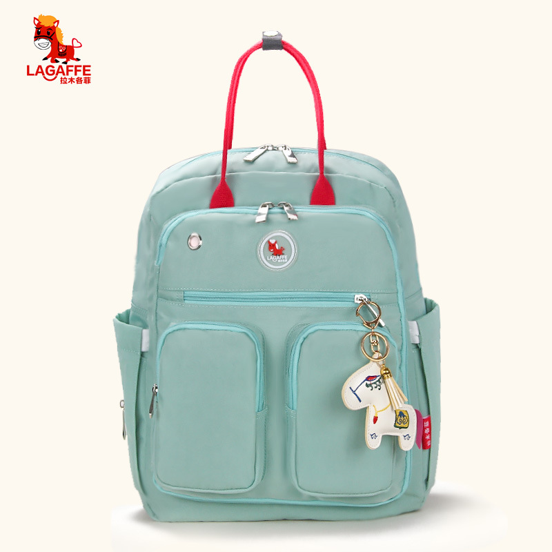 High-capacity Nylon Backpack For Mom Maternity Bag Multi-pockets Baby Diaper Bag Mother Travel Stroller Bag Nappy Organizer