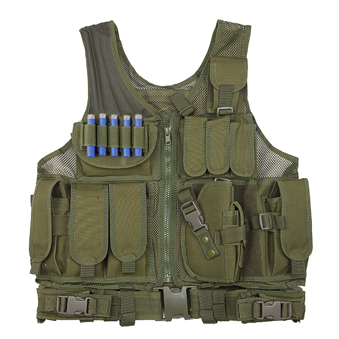 Surwish Hunting Tactical Kits Molle Multi-function Military Shooting Protective Equipment for Nerf CS Outdoor Sports Group Games nfstrike multi function fsbe outdoor tactical stab resistant accessories for nerf cs defense black