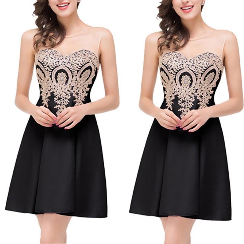 Модные женские летние вечерние бальные платья для выпускного вечера Короткие Формальные Элегантные платья Новые