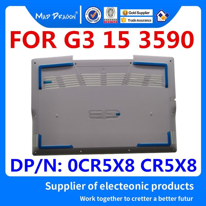 Nouveau original ordinateur portable nouvelle Base inférieure couvercle inférieur assemblage blanc coquille bleu mat pour Dell G3 3590 G3 15 3590 0CR5X8 CR5X8