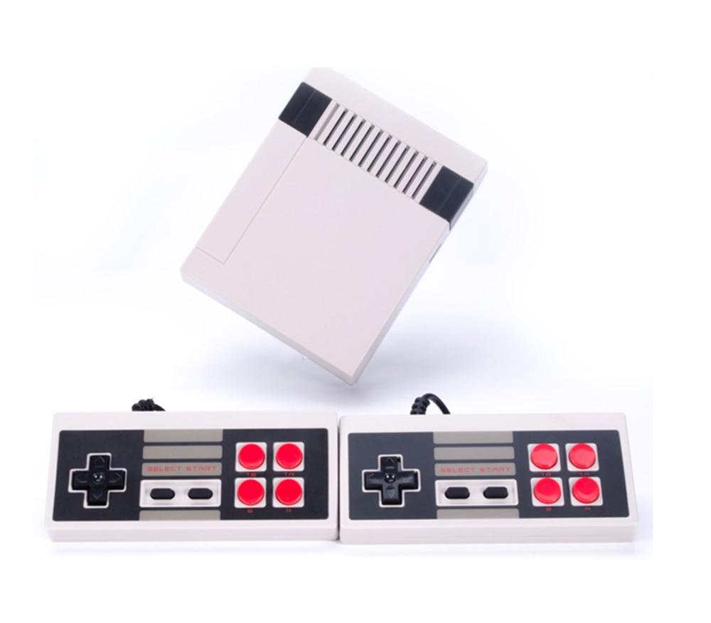 Mini TV Console di Gioco di Sostegno AV 8 Bit Retro Lettore Video Console di Gioco Built-In 500 Giochi di Gioco Portatile Best regalo per i bambini
