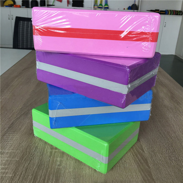 9e45205665d75 Aliexpress.com   Buy 12 colors EVA Yoga Block Brick Sports Exercise Gym  Foam Workout Stretching Aid Body Shaping Health Training Fitness unisex A  from ...