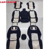 Cartailor протектор Авто сиденье подходит для Volkswagen Sharan 2012 автомобильных чехлов для сидений автомобилей Защитная крышка аксессуары