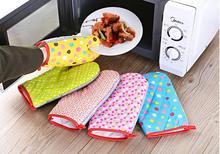1PC Cotton Oven Glove Heatproof Mitten Kitchen Cooking Microwave Mitt Insulated Non-slip Thickening LF 244