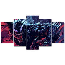 Venom movie poster  Modern Art Prints Canvas Wall Art Oil Paintings Pictures Posters for Bedroom livingroom home Decor withframe