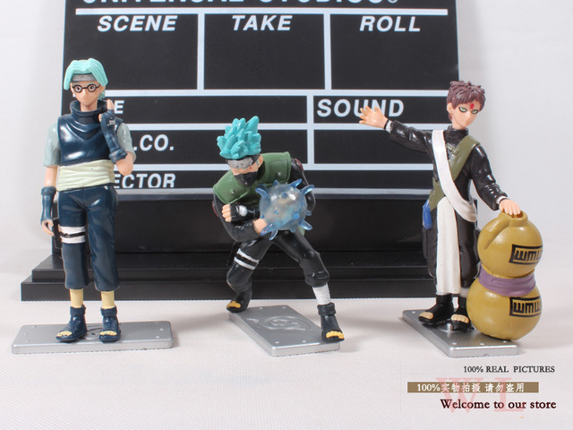 Anime Naruto 6pcs/set PVC Action Figures Collectible Model Cartoon Toy