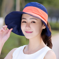 Spring And Summer Women Sun Hats Fold Thin Sunscreen Casual Female Cap Anti UV Cool Lady