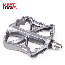 MEETLOCKS Bicycle Pedals Aluminum CRMO Bearing Triple Sealed CNC for Road Bike BMX MTB Altra-light pedales bicicleta carretera