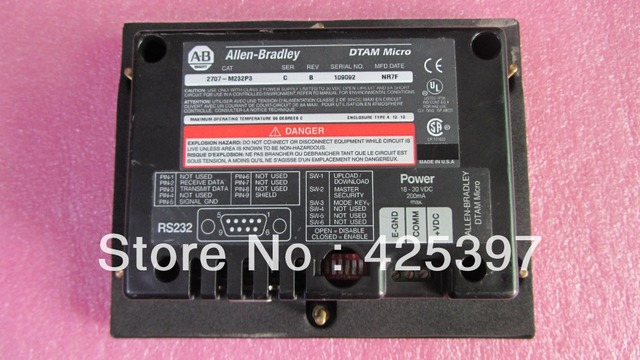 HMI 2707-M232P3 A segunda mão e original com boa qualidade 100% testado ok garantia 120 dias