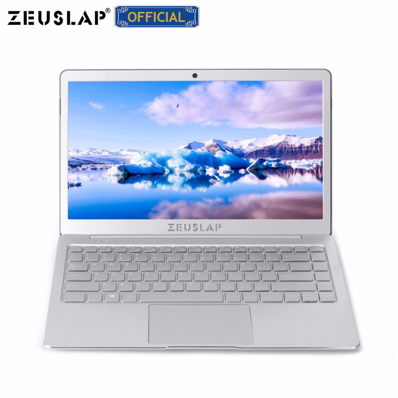 ZEUSLAP 8GB Ram+512GB SSD Quad Core CPU Windows 10 System 13.3inch 1920*1080P Full HD IPS