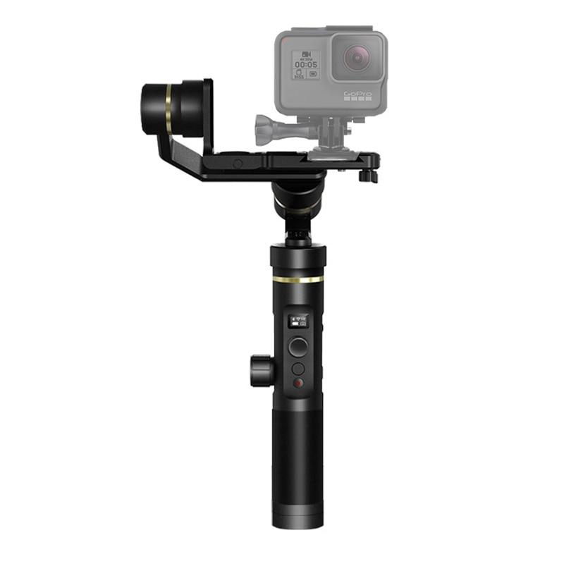 Feiyu G6 Plus Bluetooth WiFi 3-Axis Stabilized Handheld Gimbal Brushless Stabilizer for GoPro, DSLR Cameras, Smartphones трехосевой стабилизатор монопод feiyu tech summon 3 axis stabilized handheld со встроенной 4к камерой