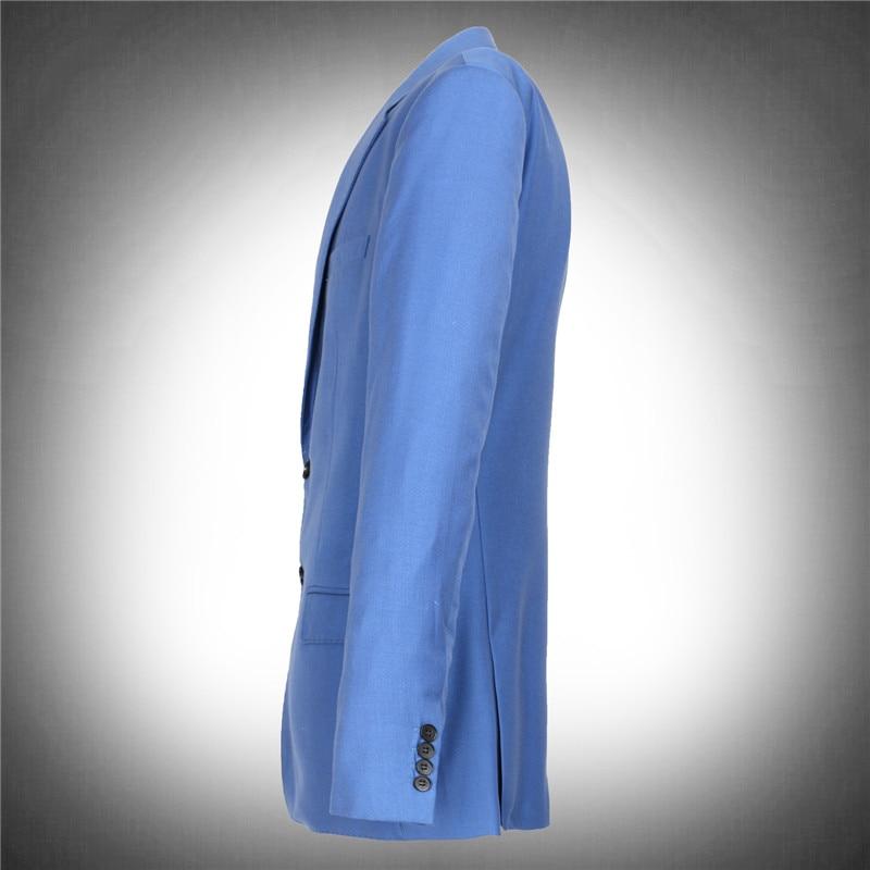 Erkek Kıyafeti'ten T. Elbise'de Yüksek kaliteli takım elbise ceketler setleri erkekler resmi obez mavi ceket çok büyük ekstra set süper büyük artı boyutu M L XL XXL XXXL 8xl'da  Grup 3