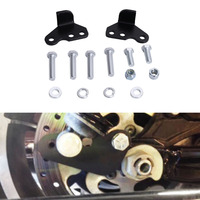 1 2 Rear Adjustable Lowering Drop Link Kit For Harley Touring FLHX FLHT FLHR FLTR 1993
