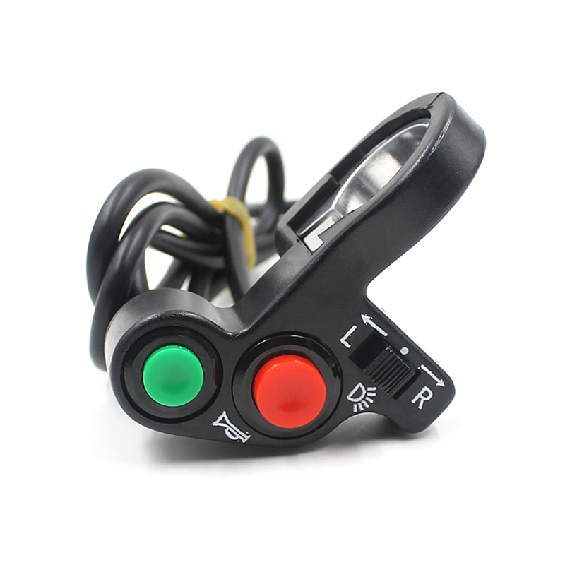 Motorcycle Scooter Universal Horn Light Equipment Switch ON//OFF Unlock Button