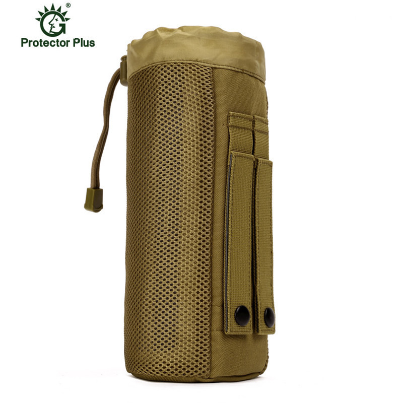 MOLLE System Single Water Bottle Climbing Bags Kettle Pouch Army Durable Men Travel Hiking Tactical Water BagMOLLE System Single Water Bottle Climbing Bags Kettle Pouch Army Durable Men Travel Hiking Tactical Water Bag