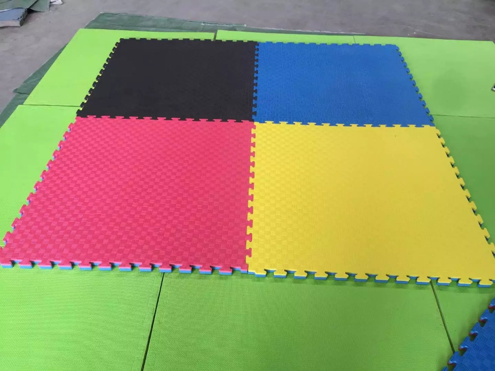 1m 1m 2 5cm Double Color No Smell Competition Eva Foam Mat