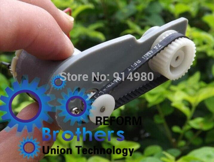 N6v 9v Dc Gear Motor Timing Pulleys Mxl Belt Dc Motor Drive