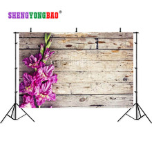 SHENGYONGBAO Art Cloth Custom Photography Backdrops Prop Board  wall sea theme Photo Studio Background S17924-11