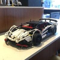 IN STOCK Lepin 23006 2838pcs New Technic Series The Hatchback Type R Set Building Blocks Bricks