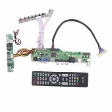 M6V5 ЖК-ТВ плата контроллера Поддержка ТВ AV VGA Аудио USB HDMI для 18,5 дюймов ЖК-панели 1920×1080 LM185TT1A M185XTN01.3 M185XTN01.0