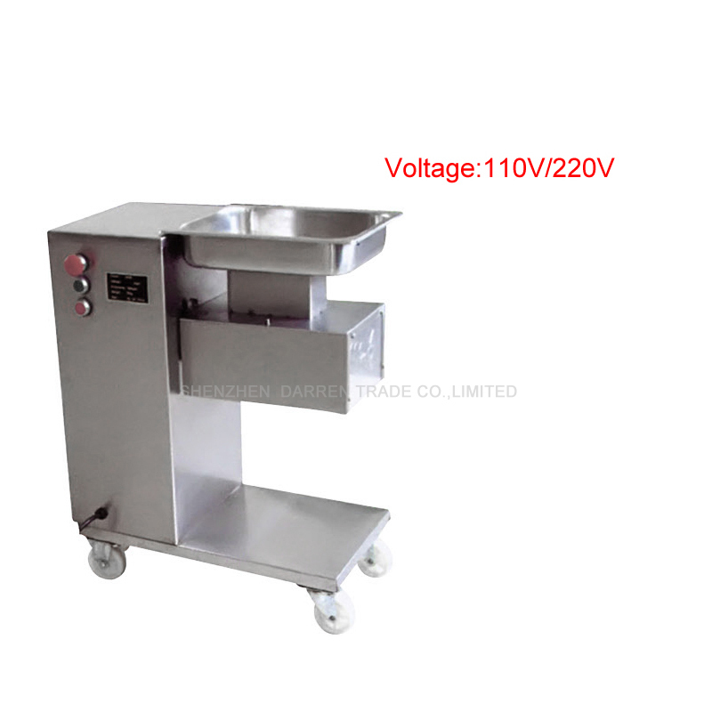 220V/110V Popular Meat Chopping Cutting Machine Food Processor for Meat for Commercial Use Meat Slicer QE wavelets processor