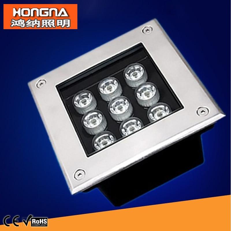 Free Shipping 110V/220V High Power LED 9W Underground Light Waterproof IP68 Outdoor LED Underground Lamp : 91lifestyle