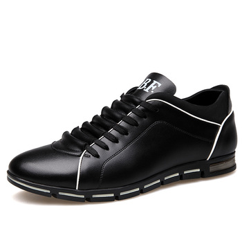 Merkmak Big Size 38-48 Oxford Men's Shoes Fashion Casual British Style Autumn Winter Outdoor Leather Lace Up Footwear Drop Ship