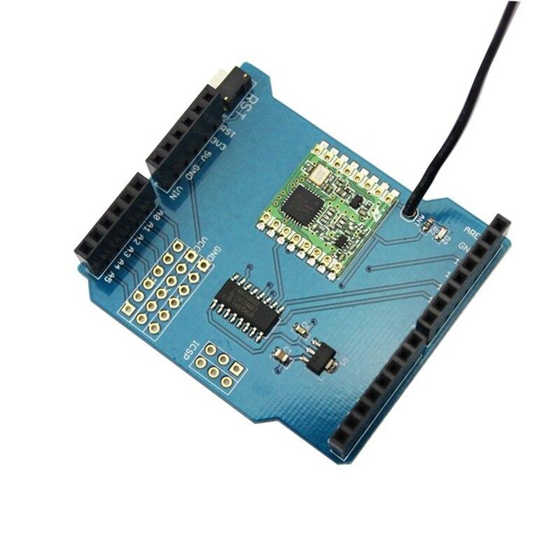 Elecrow RFM69 Bouclier pour Arduino RFM69HCW Radio Module Électronique BRICOLAGE Fans Étudiant Maker Projet DIY Kit