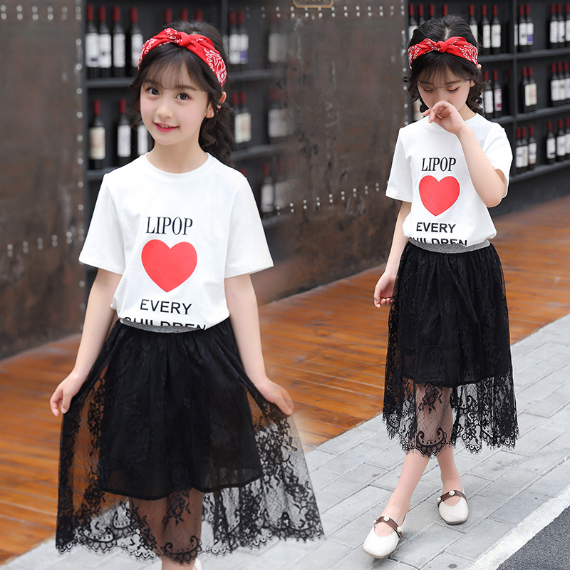 pcs, Outfits, Letter, Clothing, Top, Tshirt