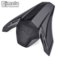 BJMOTO ABS Plastic Motorcycle Carbon Fiber Rear Pillion Seat Cowl Fairing Cover For Kawasaki Z900 2017 2018