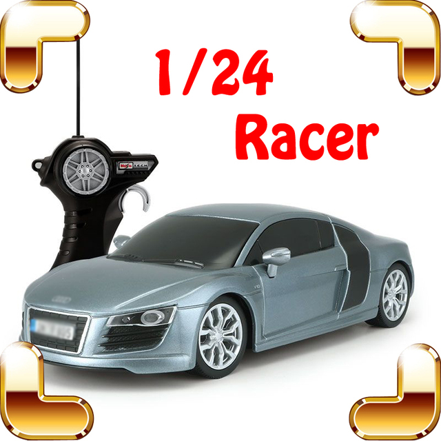 Новое Поступление Подарок R8 1/24 RC Автомобиль Дистанционного Управления Гоночный Автомобиль Модели Электрических Toys Скорость Машины