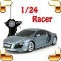 Chegada nova r8 1/24 rc modelo de carro veículo de corrida de controle remoto elétrico presente toys máquina de velocidade