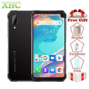 "Image 1 - Blackview a BV6100 6,88 ""teléfono inteligente 3GB + 16GB Android 9,0 IP68 impermeable del teléfono móvil 5580mAh NFC Dual SIM teléfono móvil de la huella dactilar"