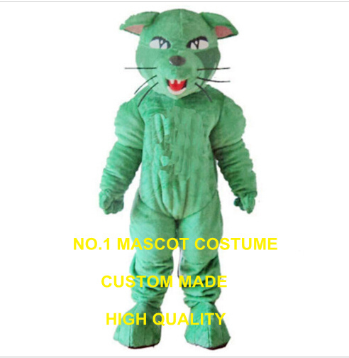 green panther mascot costume custom leopard adult size cartoon character cosplay carnival costume 3376