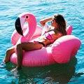круг для плавания надувной круг Гигантский надувной бассейн Фламинго поплавки розовый круг для плавания кольцо для взрослых и детей вечерн...