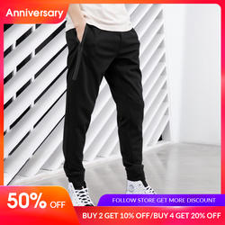 JackJones для мужчин стрейч Jogger брюки для девочек с карманами на молнии Мужчин's спортивные брюки прилегающего кроя Мужчин's фитнес мотобрюки 2019