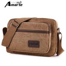 New Arrival Men Canvas Messenger Bag Casual Travel Fashion Single Shoulder Bags Brand Men's Crossbody Bag Business Male Bag