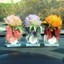 Car Interior Ornaments Potted plant Flower Decoration Accessor Living Room Bedroom Perfume Aromatherap Jewelry Gift