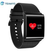 Teamyo X9 Pro Цвет ЖК-дисплей смарт-браслет шагомер крови Давление Кислорода Монитор сердечного ритма cardiaco смарт-фитнес-браслет